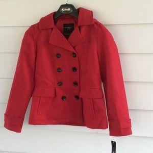 Celebrity pink hooded jacket